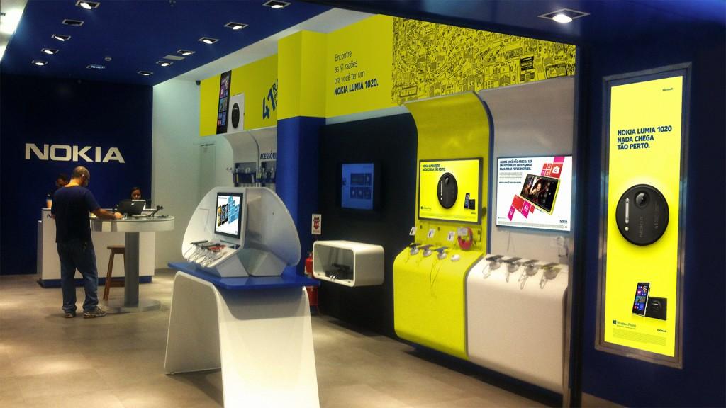 Campanha de Lançamento do Nokia Lumia 1020 - Nokia Store Niterói - Rio de Janeiro
