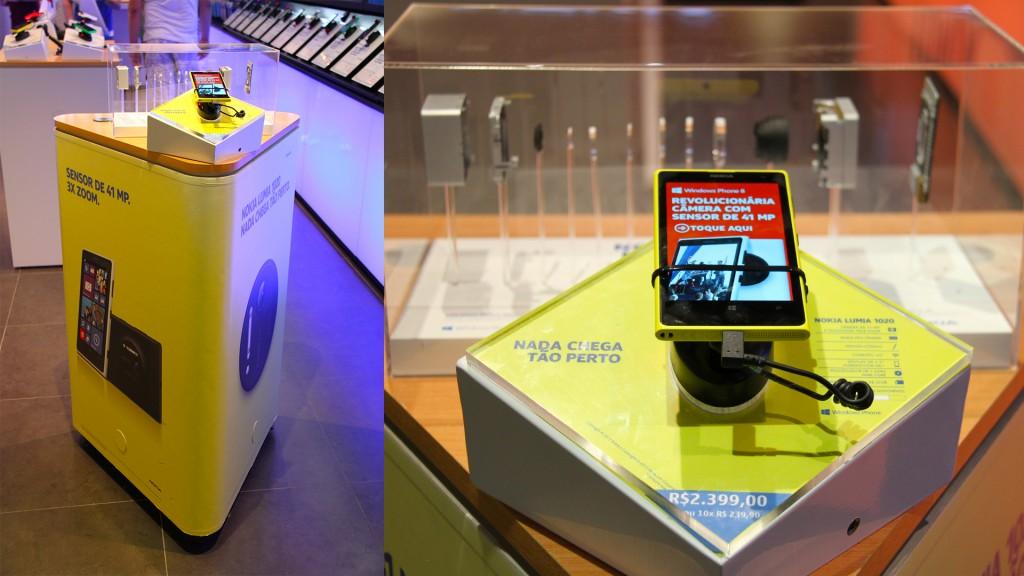 Experiência Lumia 1020 - Nokia Store