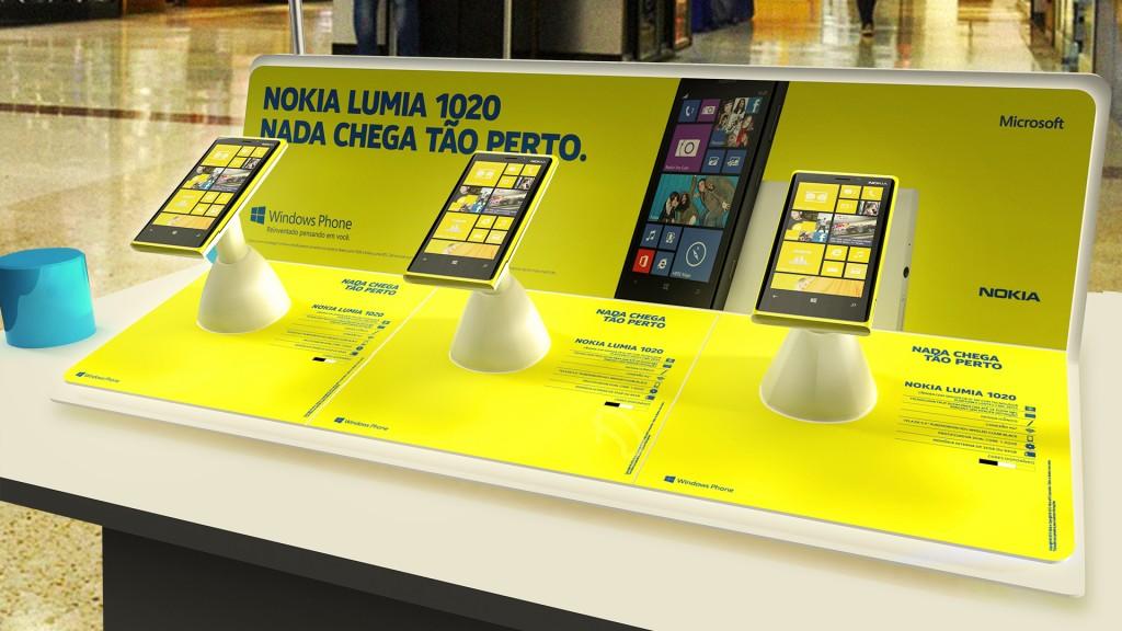 Nokia Lumia 1020 - Quiosque Nokia Experience Zone